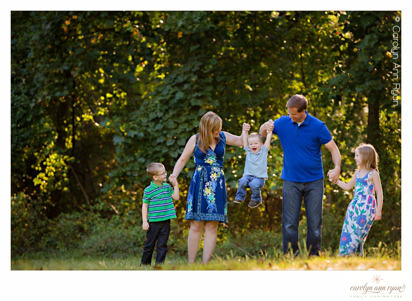 Authentic Moments Charlotte NC Family Portrait