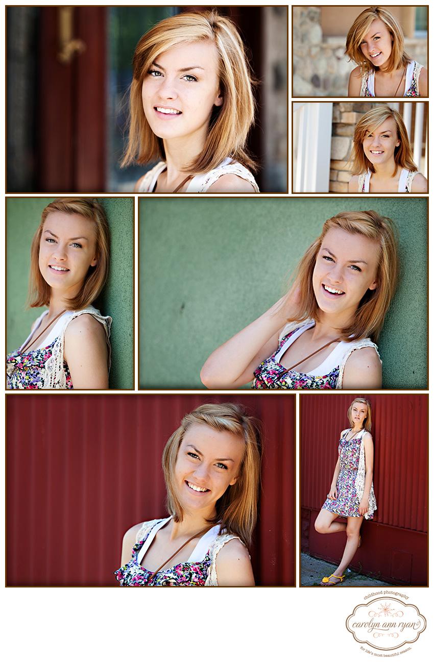 Classic Waxhaw, NC Senior Portraits