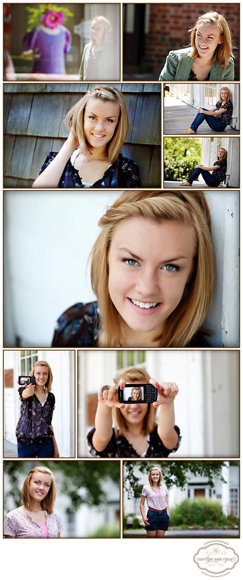 Classic Waxhaw, NC Senior Portraits by Carolyn Ann Ryan