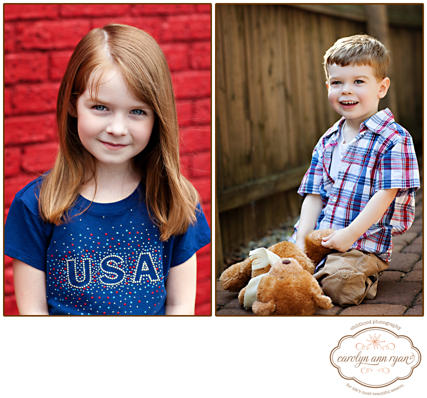 Waxhaw, NC Children's Photographer shares Tiny Tuesday - Happy Memorial Day Weekend