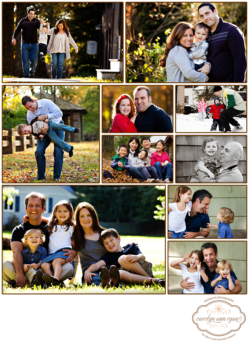 Charlotte, NC Family Photographer Carolyn Ann Ryan celebrates Father's Day!