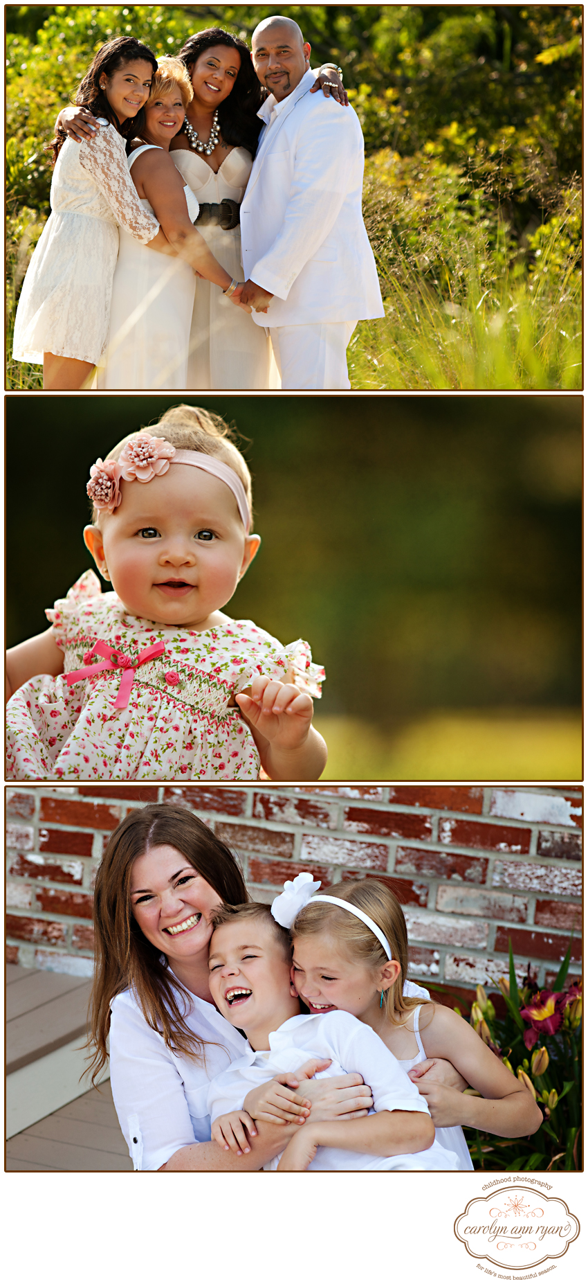 North Carolina Family Portrait Photographer shares Summer Sneak Peeks