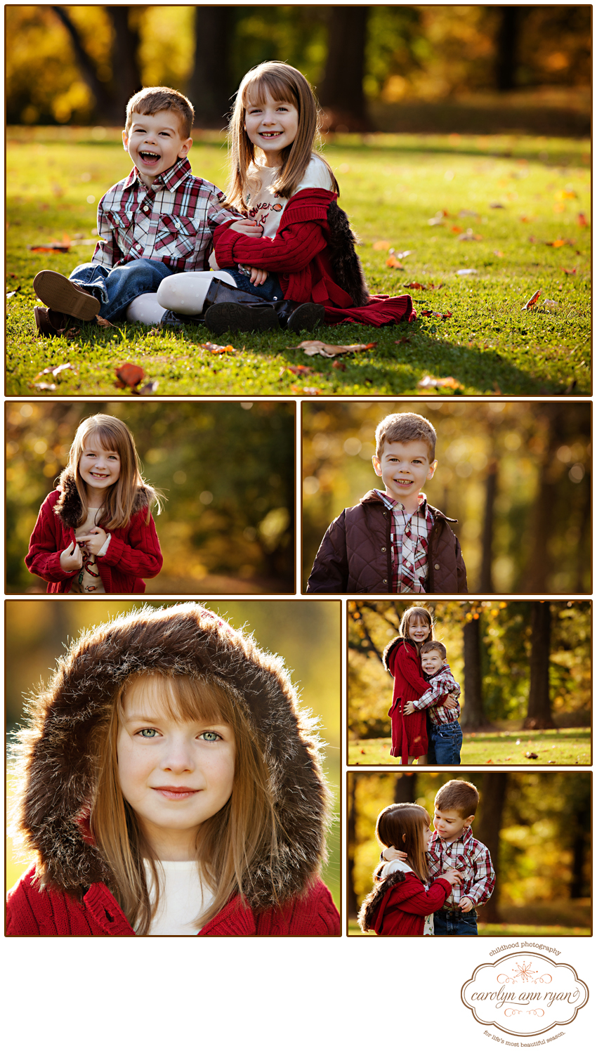 Waxhaw, NC Child Photographer - Fall Portraits