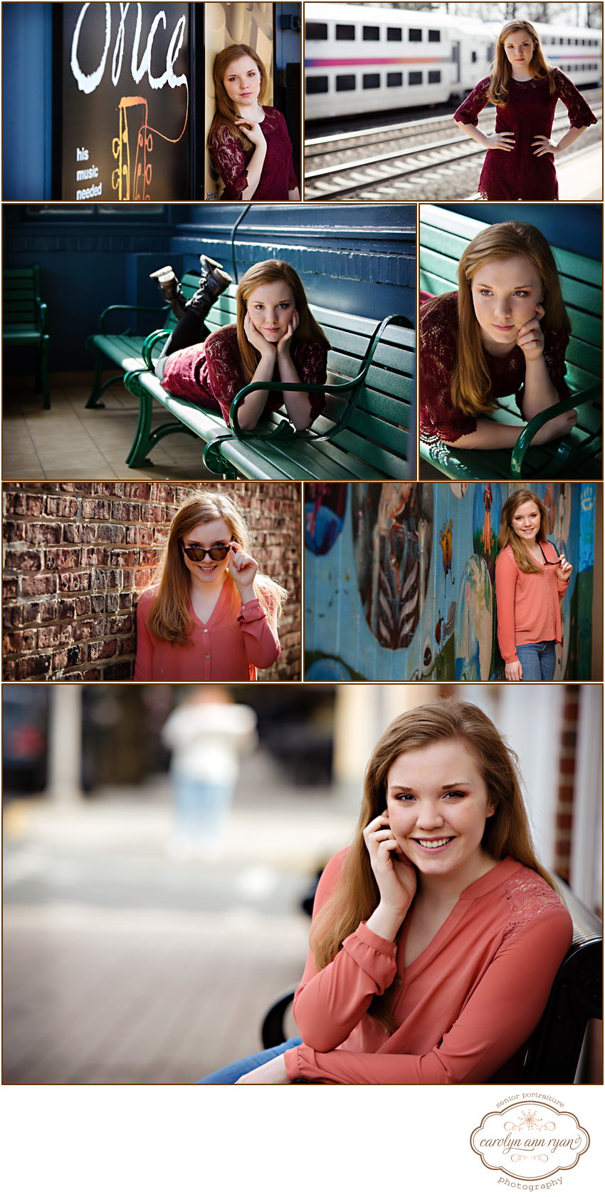 Waxhaw, NC Senior Portrait Photographer Carolyn Ann Ryan