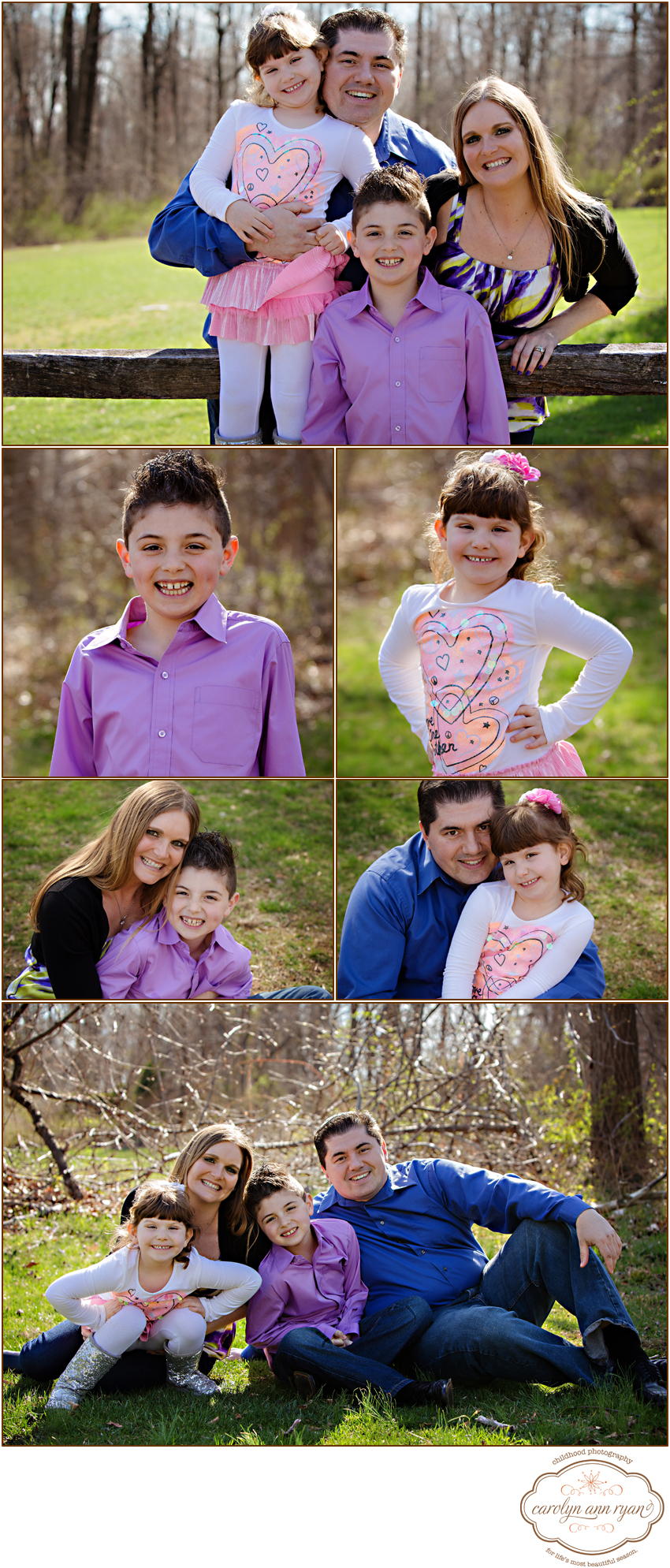 NC Child and Family Photographer, Carolyn Ann Ryan, captures beautiful family portraits in Charlotte, NC