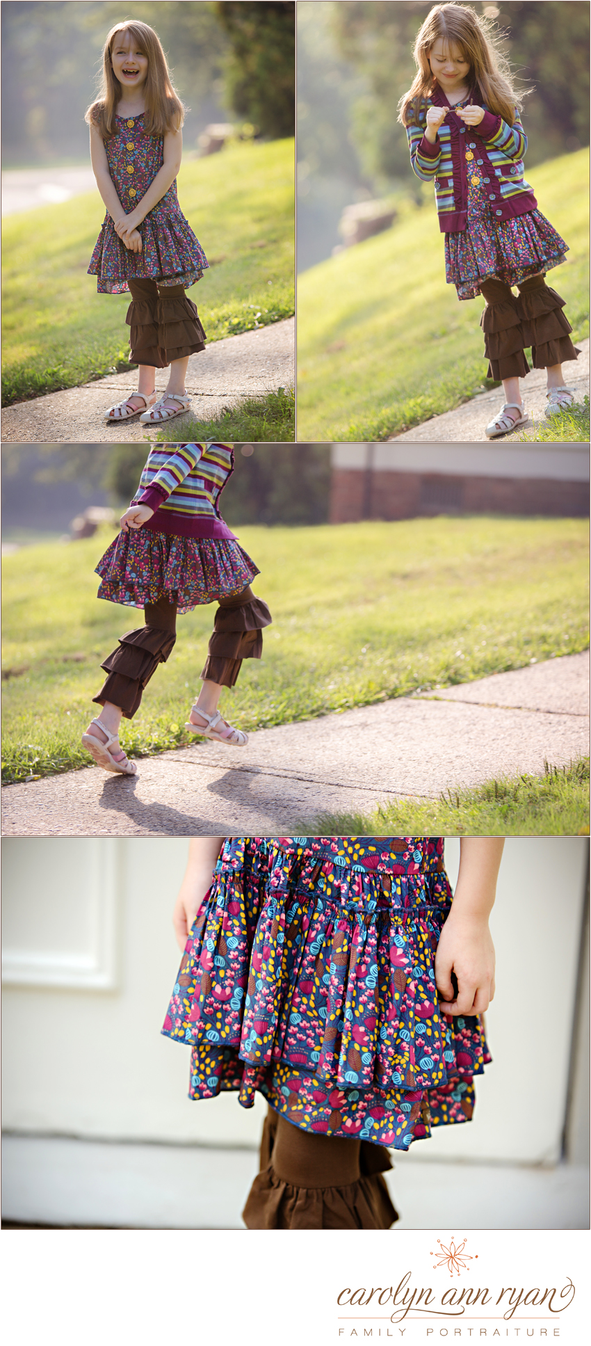 NC Child Photographer photographs child for Matilda Jane Clothing Company