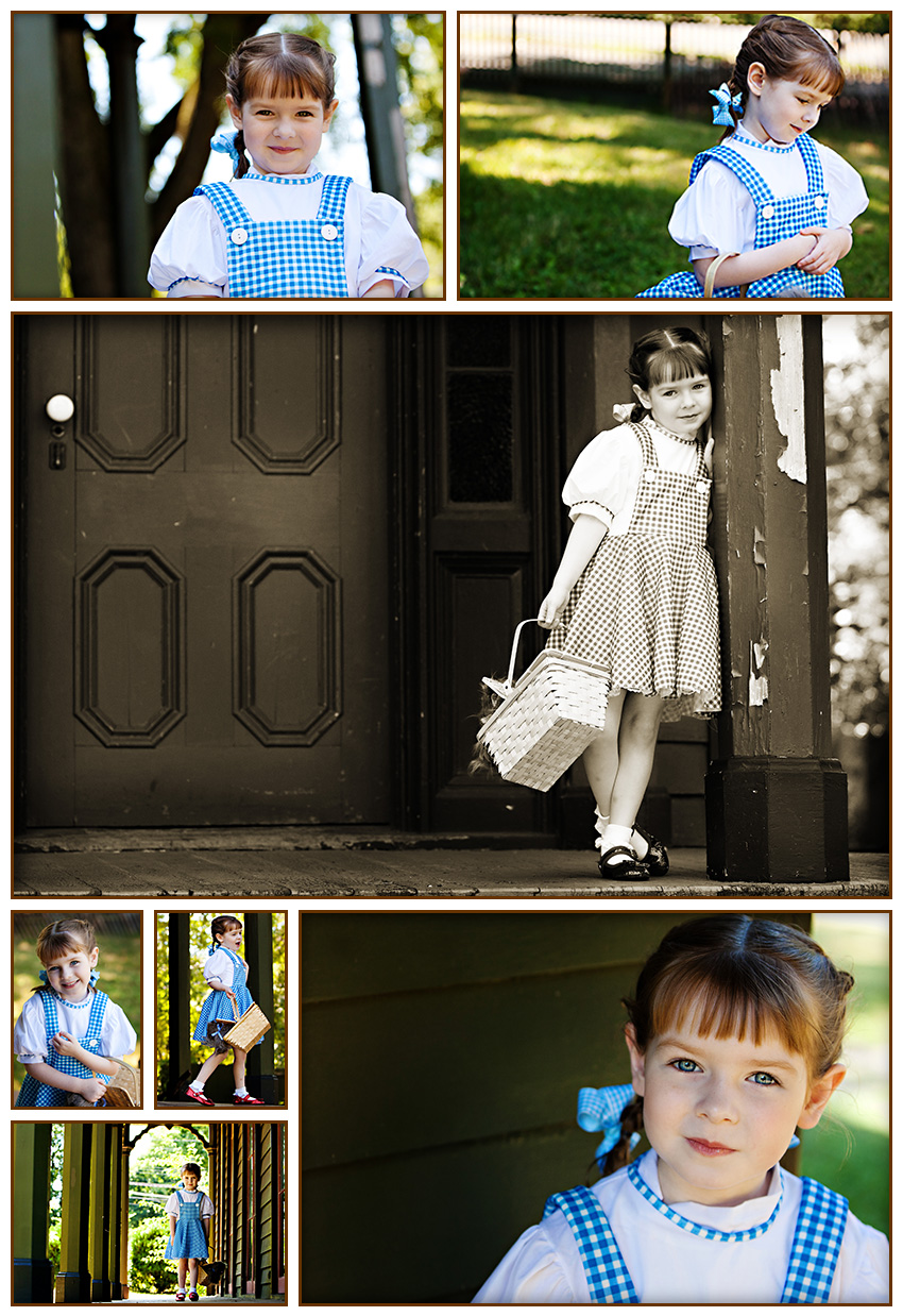 Enchanting Waxhaw, NC Child Portrait Session
