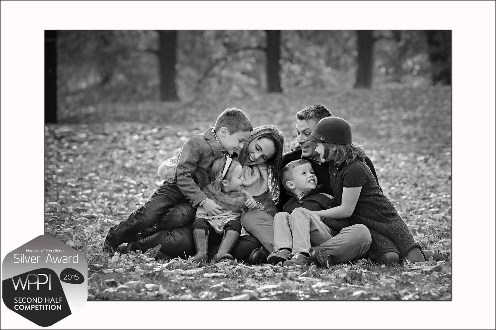 Charlotte NC Award Winning Family Photographer wins silver award from WPPI