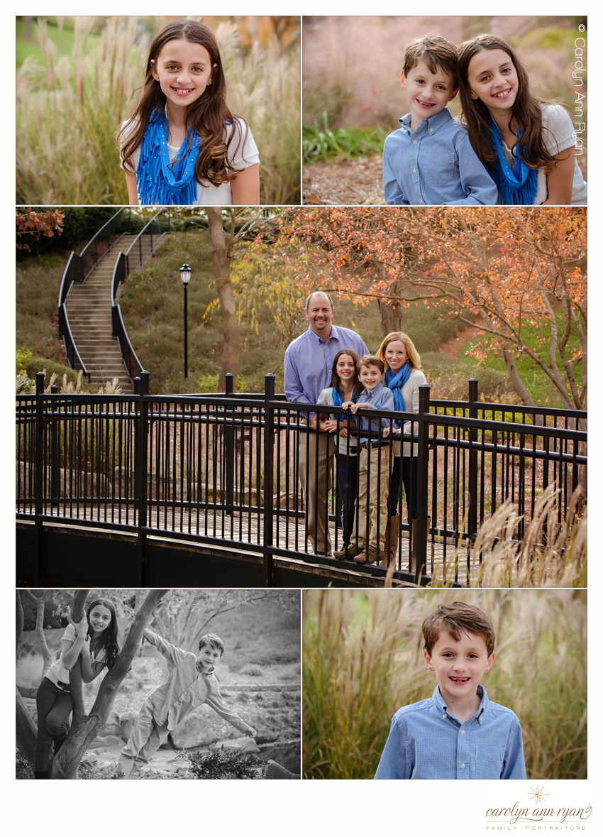 Sibling and Family Portraits by Charlotte, NC Family Photographer Carolyn Ann Ryan