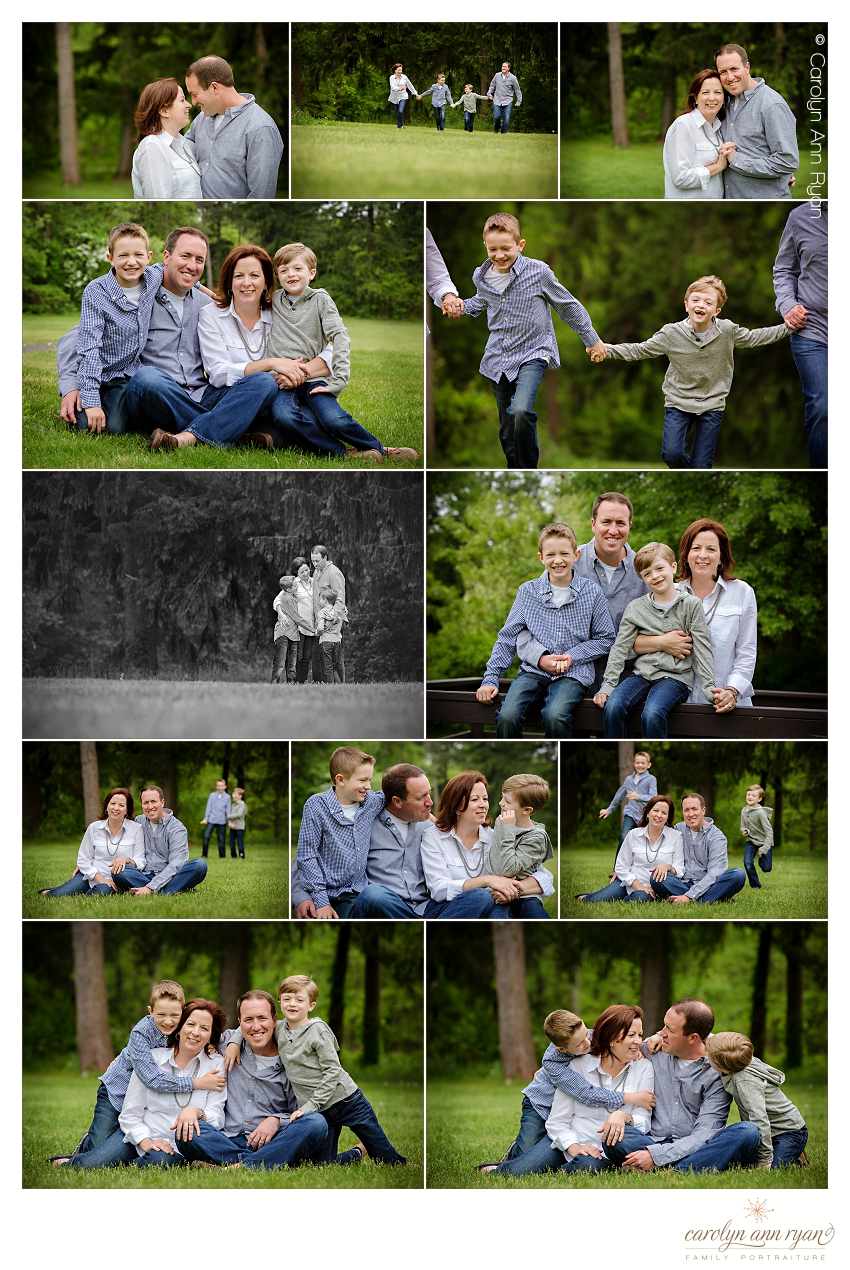 Family Portraits taken by Charlotte Family Photographer, Carolyn Ann Ryan
