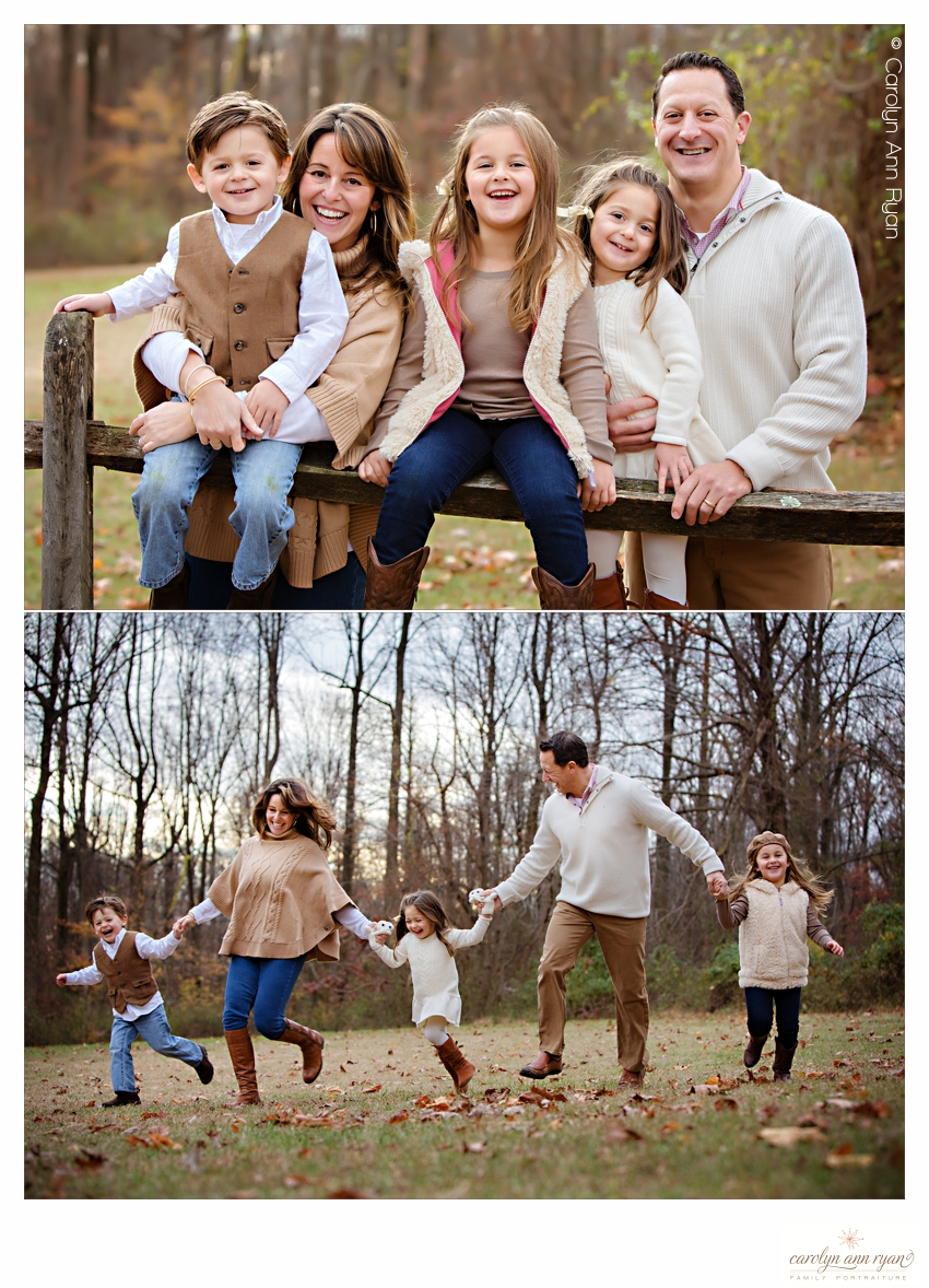 Charlotte NC Family Photographer shares What to Wear guide for Fall Family Portraits