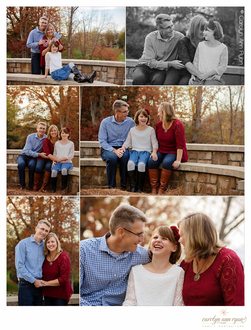 Classic Charlotte NC Family Portraits near Ballantyne Corporate Park