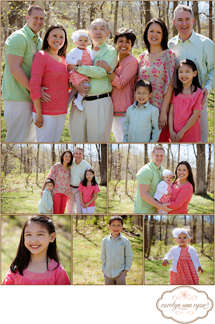 Extended Family Portrait Session by Charlotte, NC Family Photographer Carolyn Ann Ryan