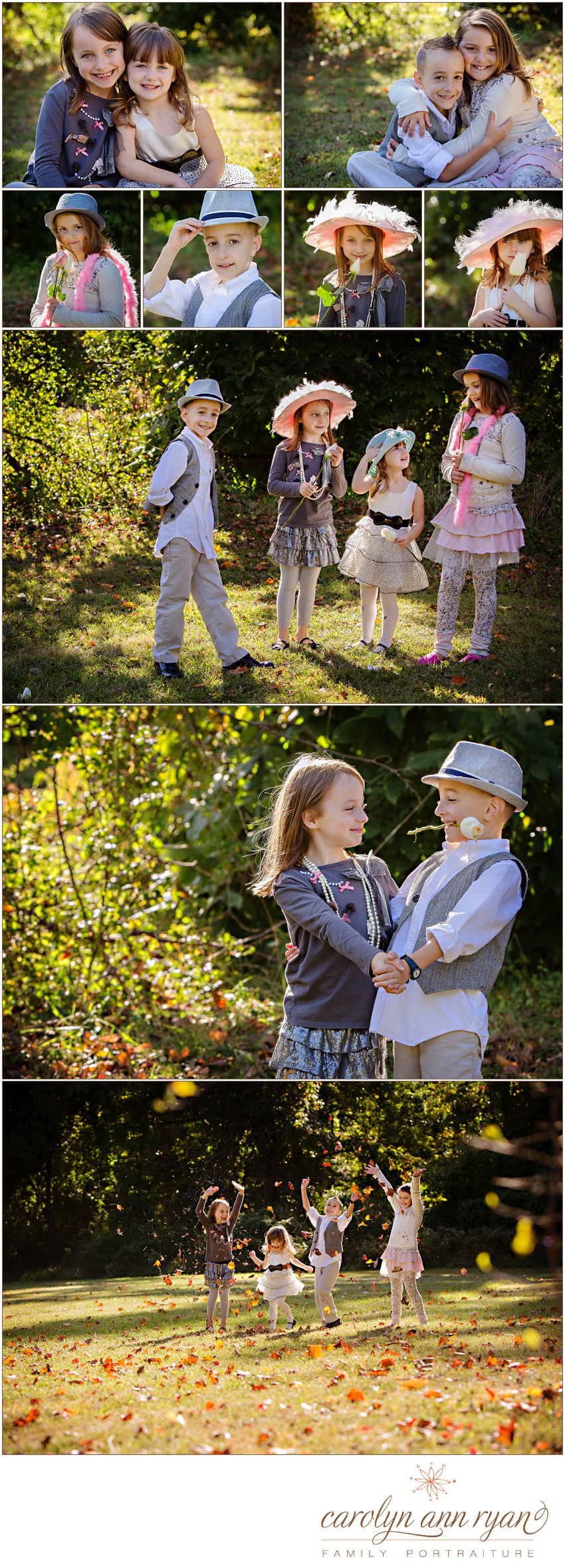 Extended Family Portraits by North Carolina Family Photographer Carolyn Ann Ryan