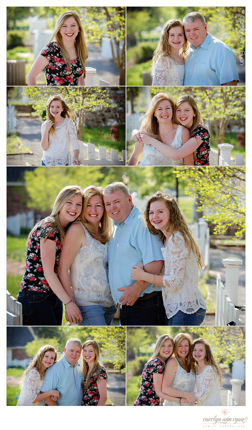 Charlotte NC Family Photographer photographs teenagers and parents