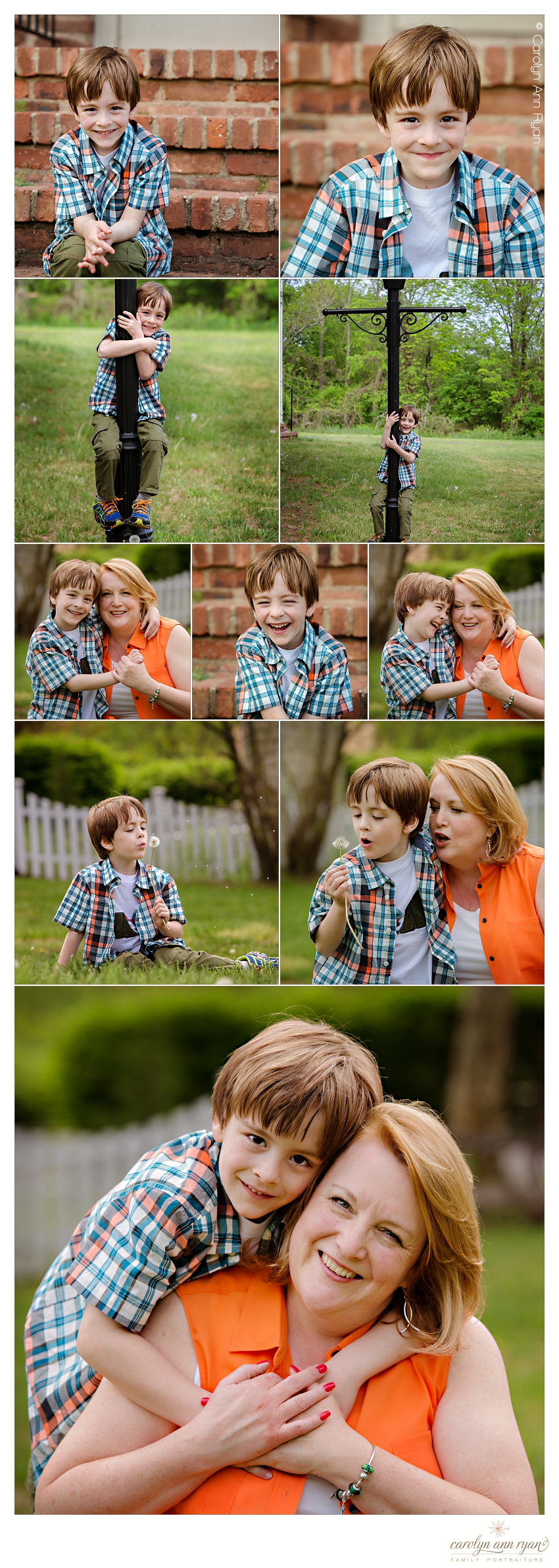 Family Photographer in Charlotte North Carolina