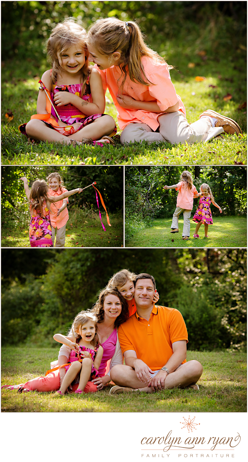 Sunny Marvin, NC Family Photographs by Family Photographer Carolyn Ann Ryan