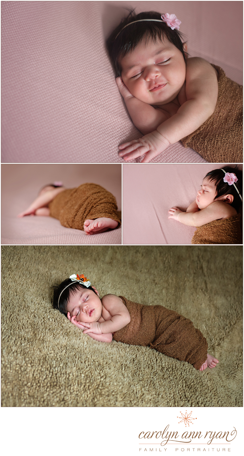 Charlotte NC Newborn Portrait Session