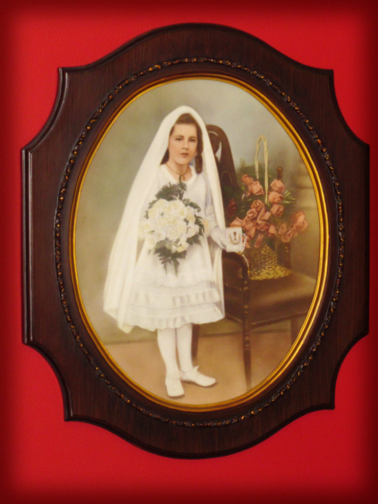 Charlotte, NC Photographer shares 90 Year Old First Holy Communion Portrait