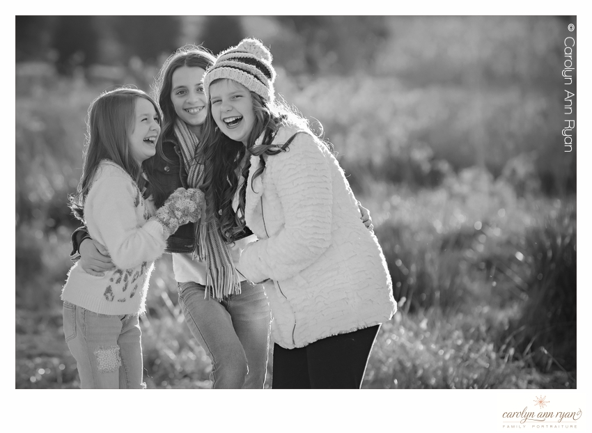 Charlotte Photographer Carolyn Ann Ryan photographs tweens together