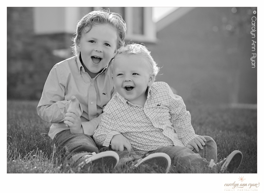 Joyful Portrait of Siblings in Charlotte NC