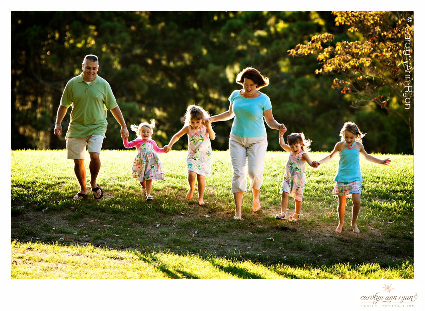 Joyous Charlotte NC Family Portraits by photographer Carolyn Ann Ryan