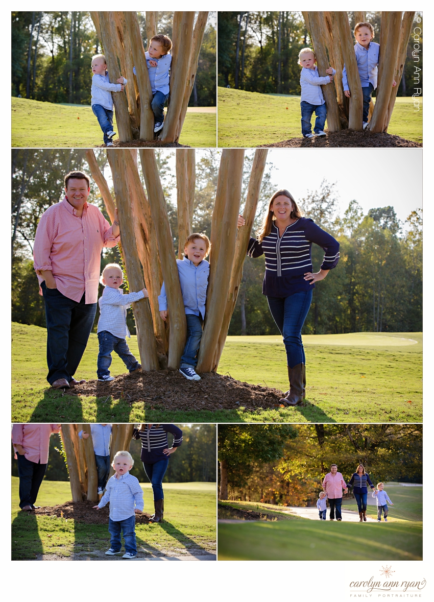 Marvin, NC Family Photographer Carolyn Ann Ryan creates family portraits at their favorite locations
