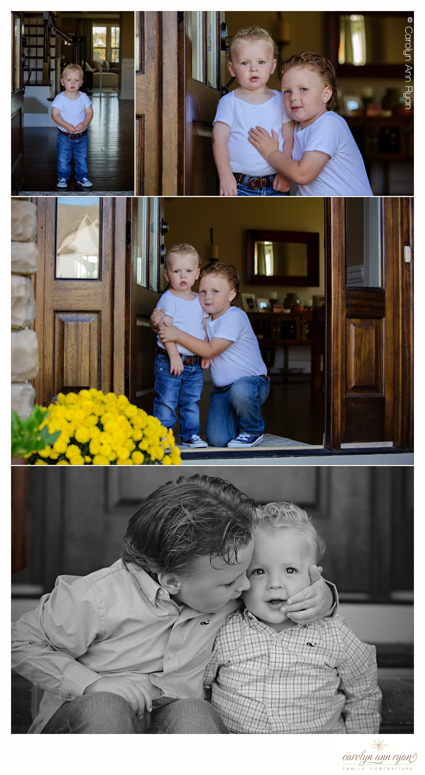 Family Portrait Photographer, Carolyn Ann Ryan, creates adorable portraits