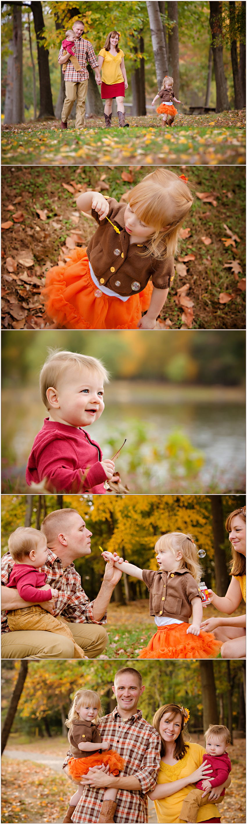 Wahxaw NC Family Photographer Carolyn Ann Ryan shares dreamy family portraits