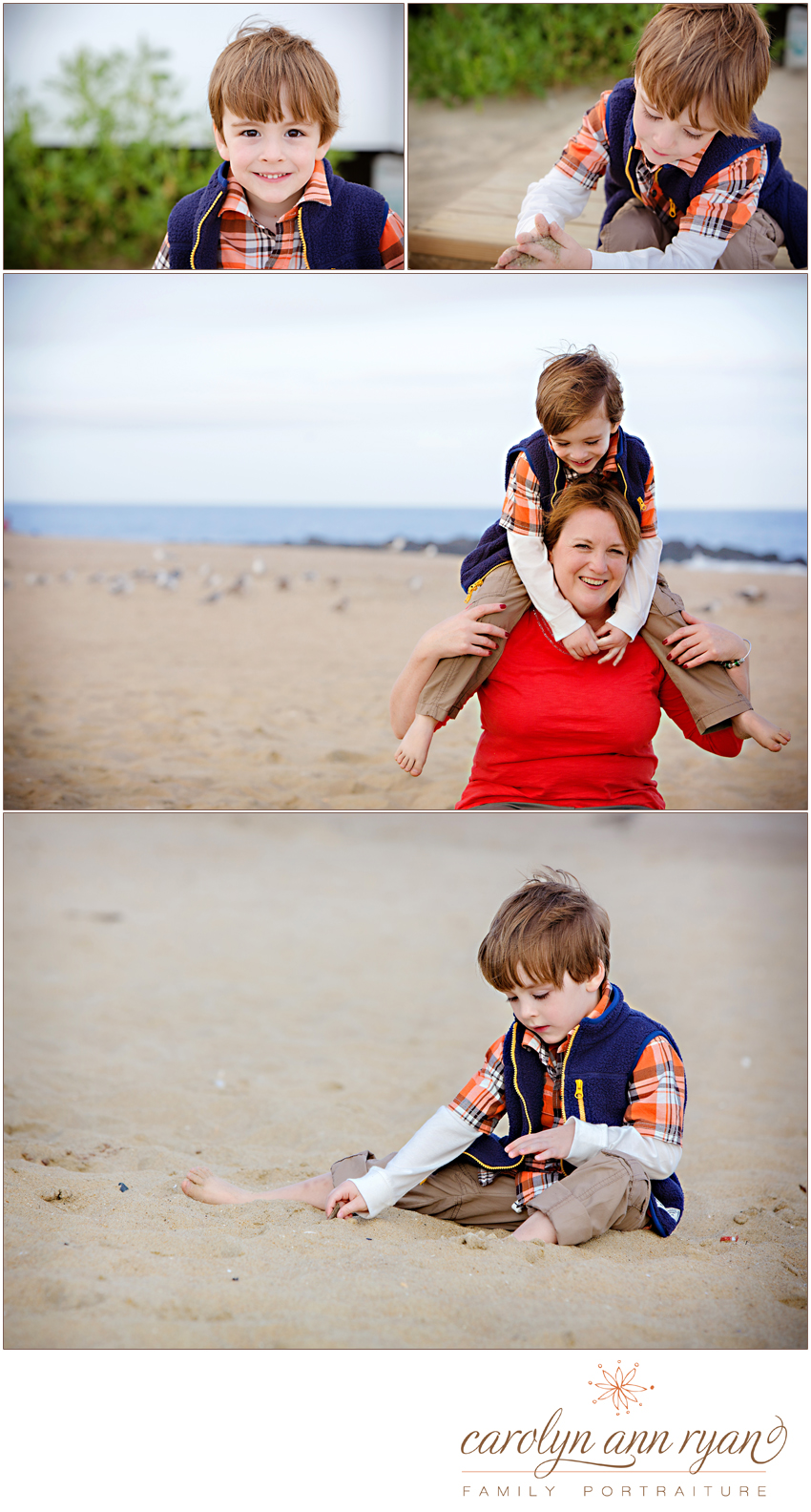 NC Beach Portraits Carolyn Ann Ryan Family Photographer 2