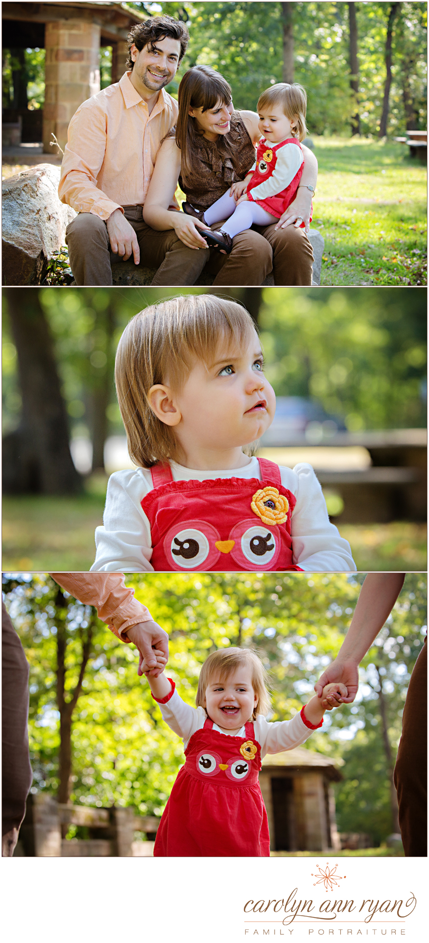 Sweet Marvin, NC Family Photography with Autumn Family Portraits by Carolyn Ann Ryan