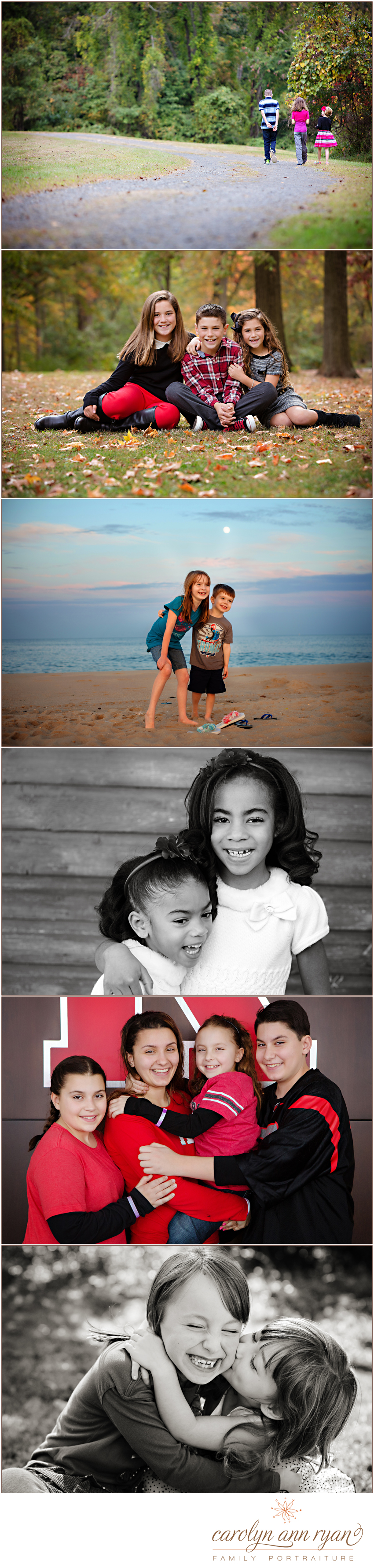National Sibling Day Portraits shared by Charlotte Family Photographer Carolyn Ann Ryan