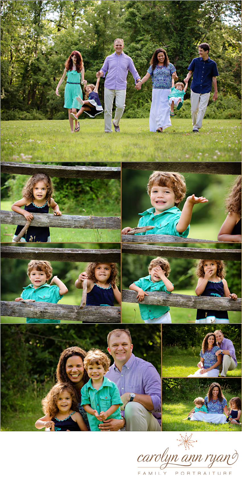 Marvin, NC Summer Family Portraits by Carolyn Ann Ryan
