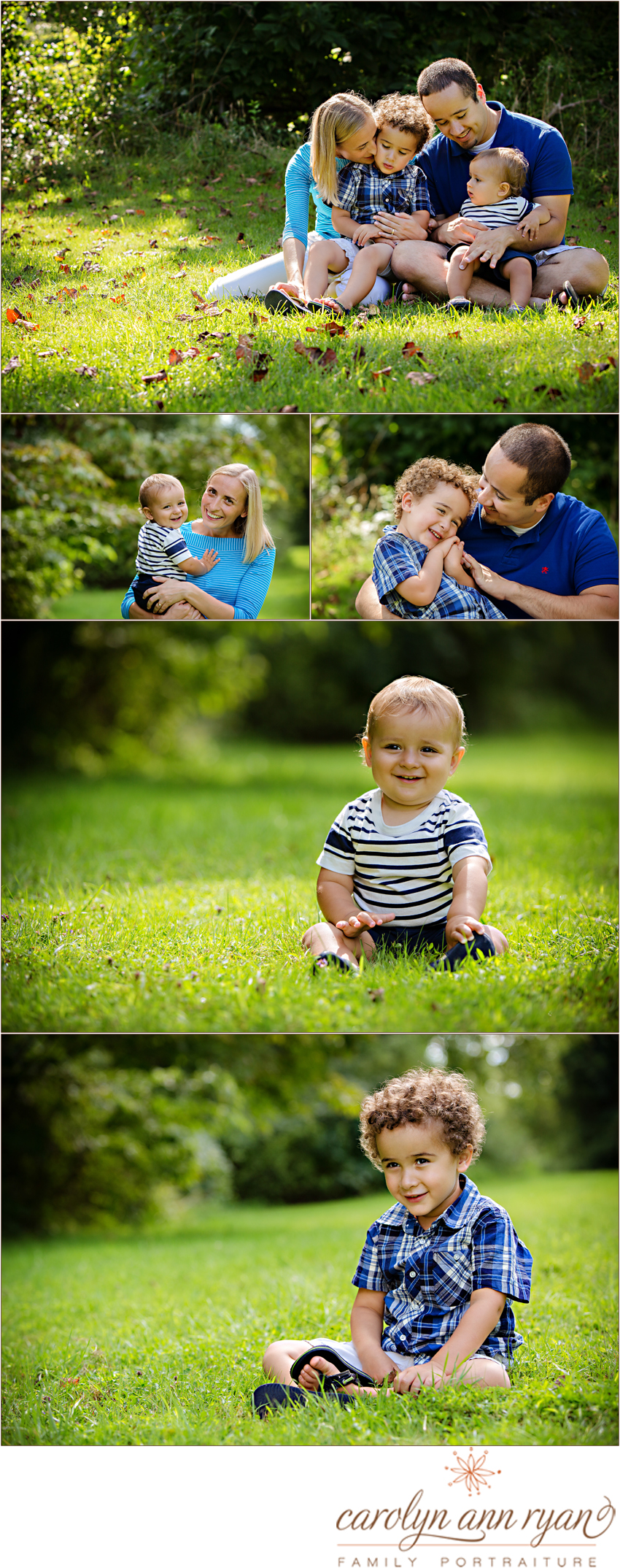 Professional North Carolina Family Photographer Carolyn Ann Ryan