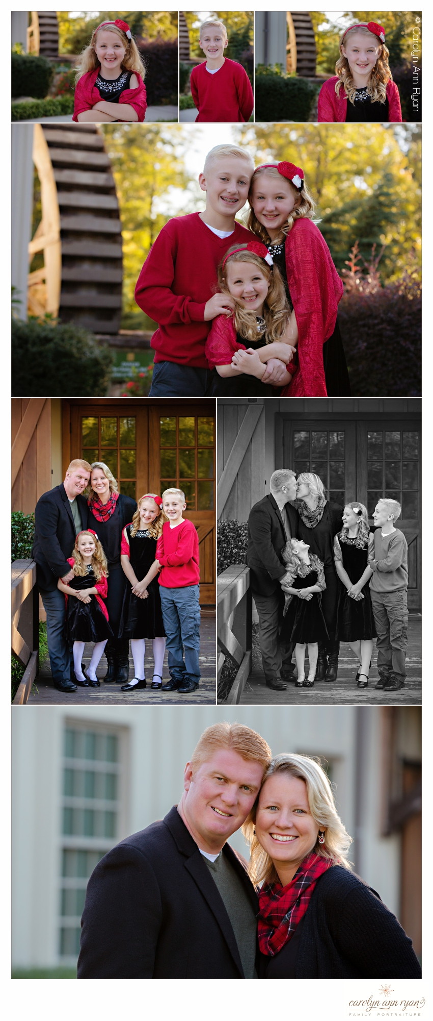 Priceless Charlotte NC Family Portraits for the holidays