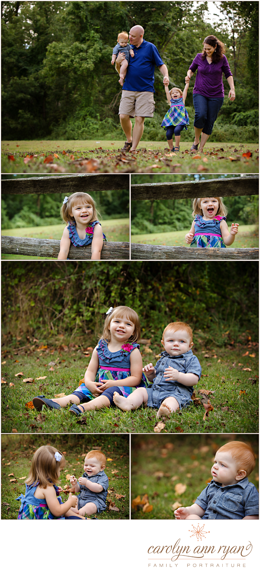 Darling Charlotte, NC Family Photography - Portrait Session photographed by Carolyn Ann Ryan