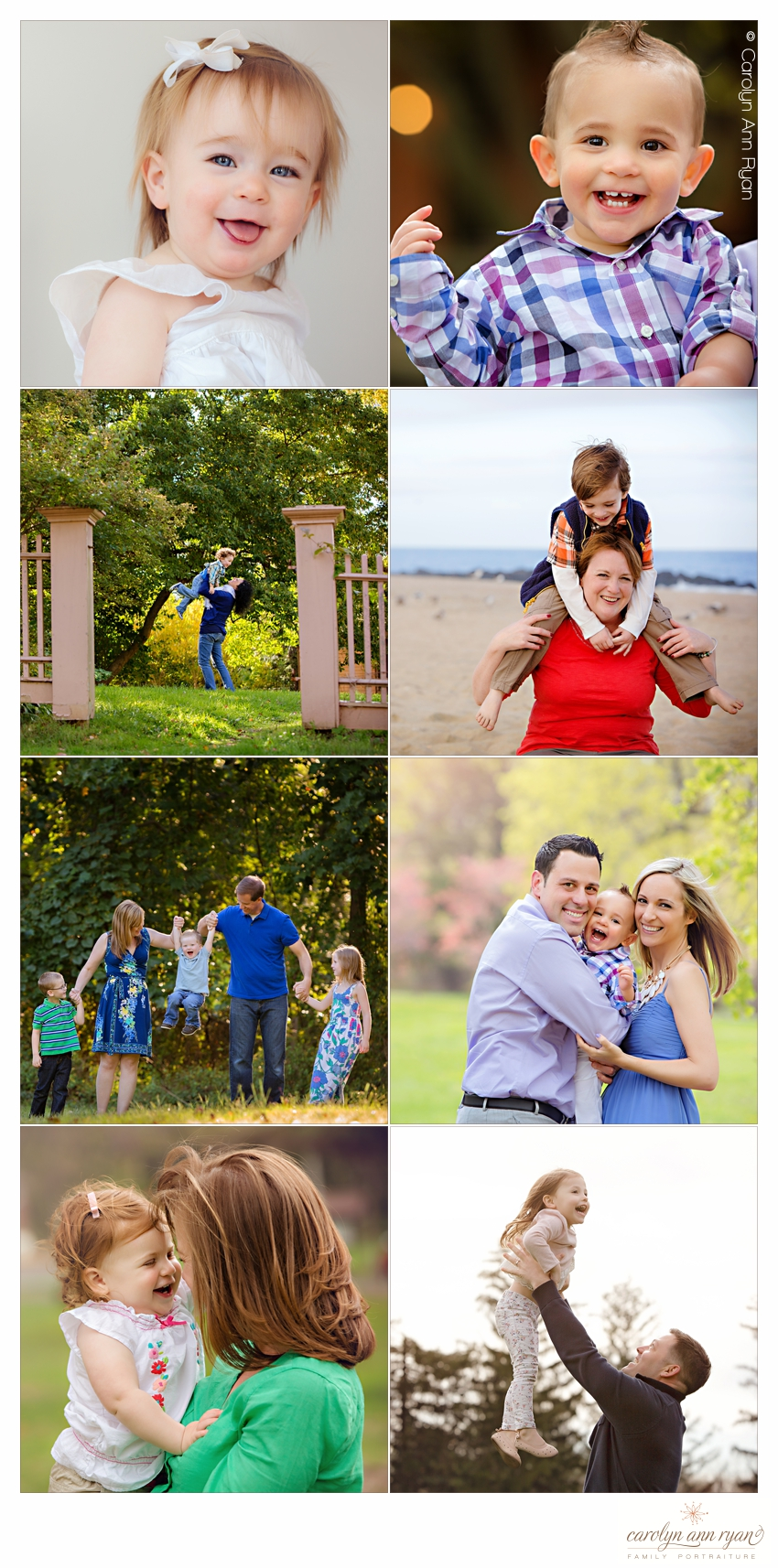 Skilled Charlotte NC Family Photographer Carolyn Ann Ryan