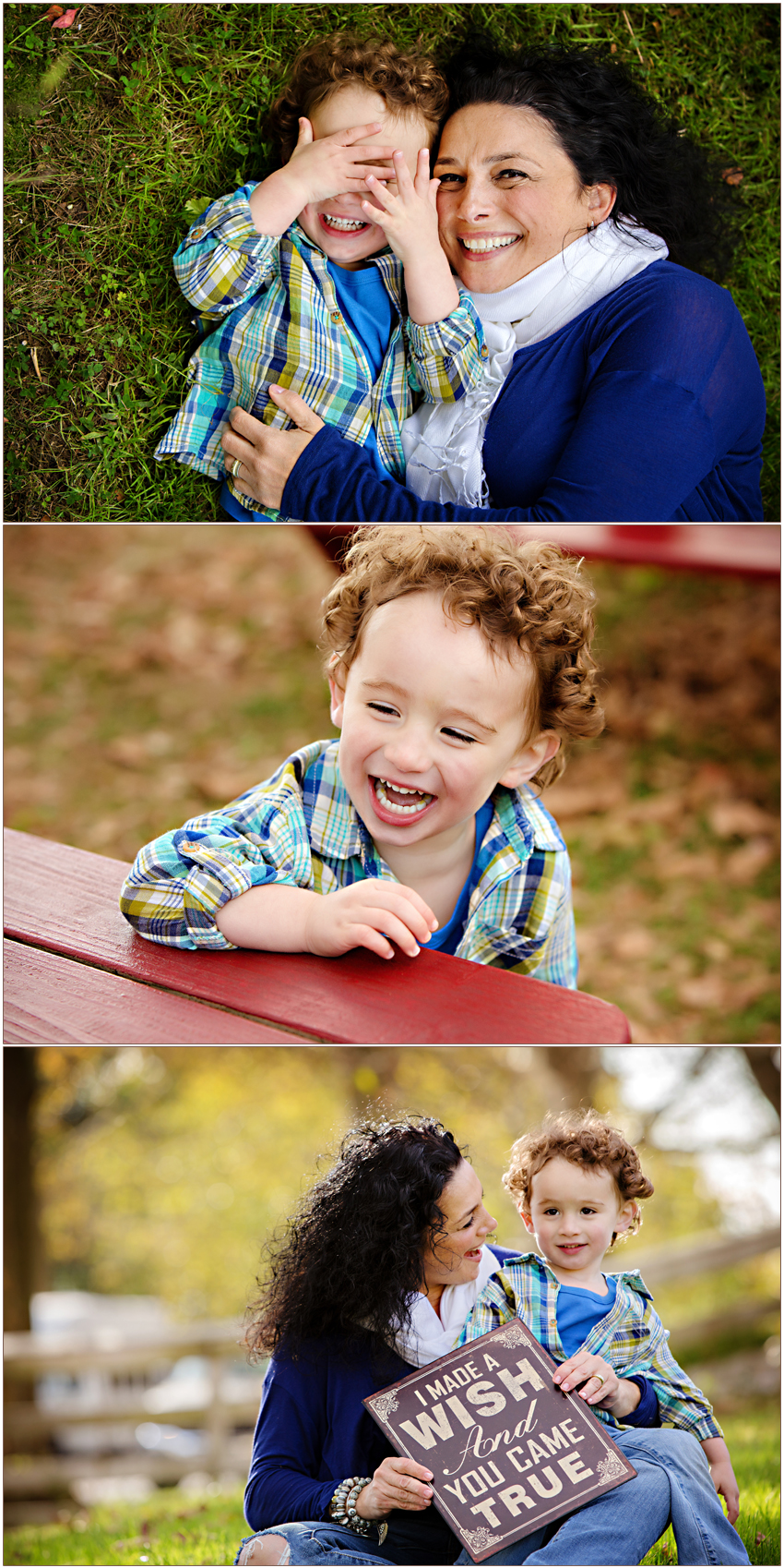 Playful Marvin, North Carolina Family Photographer | A Wish