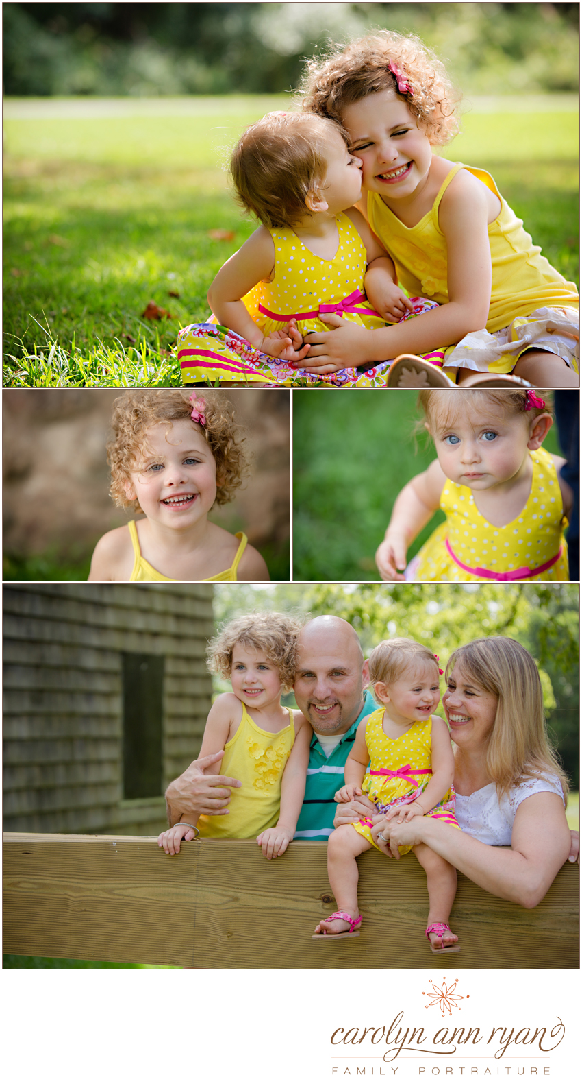 Enchanting Waxhaw, NC Family Portraits by Carolyn Ann Ryan