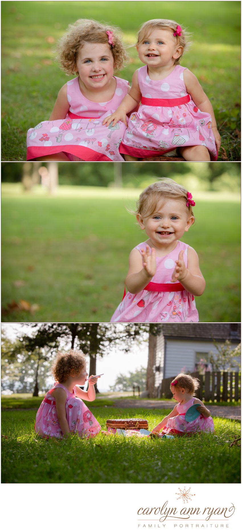 Enchanting Waxhaw, NC Family Photography by North Carolina Photographer Carolyn Ann Ryan