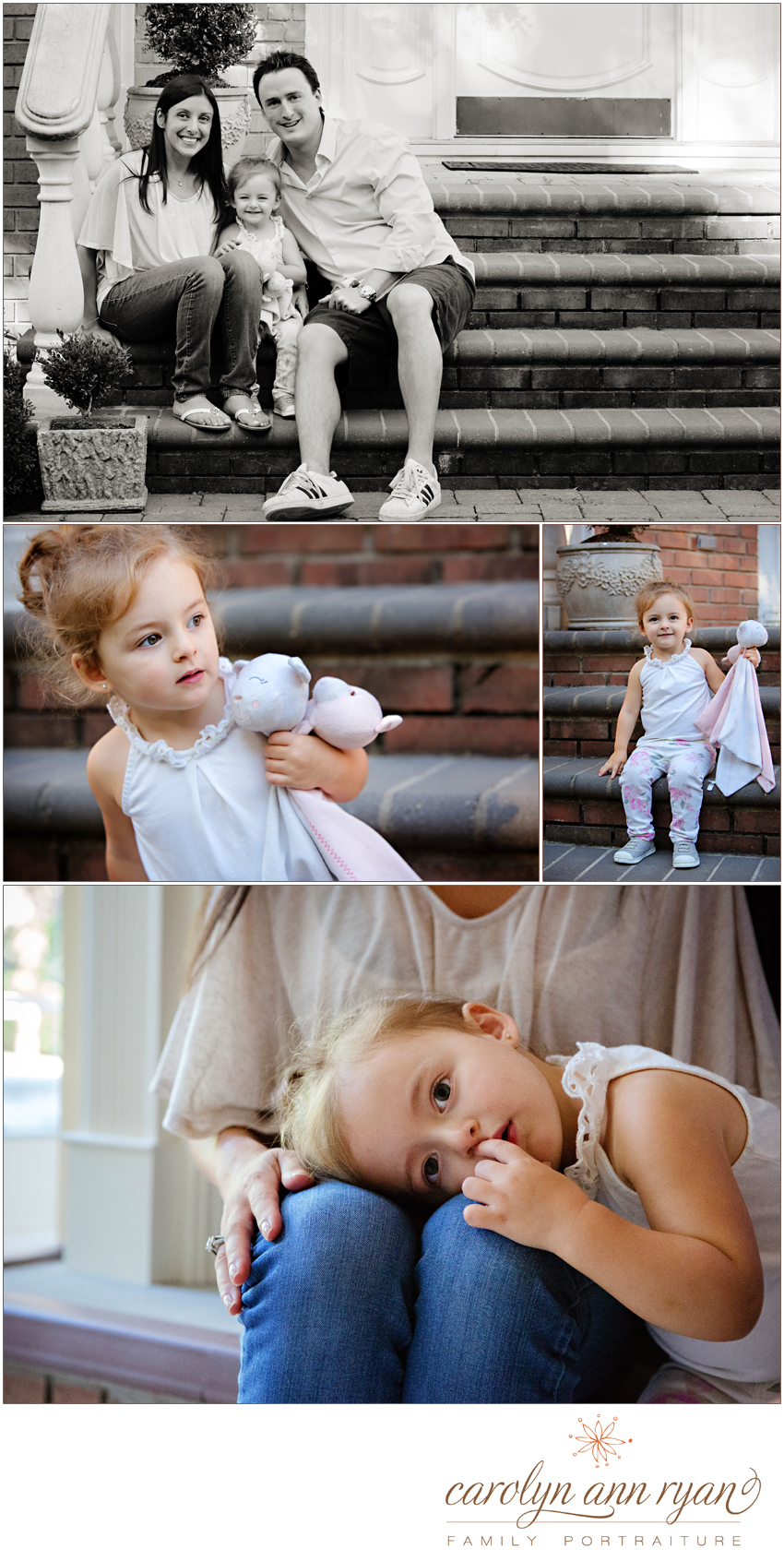 Charming Waxhaw Family Portrait Session by North Carolina Family Photographer Carolyn Ann Ryan