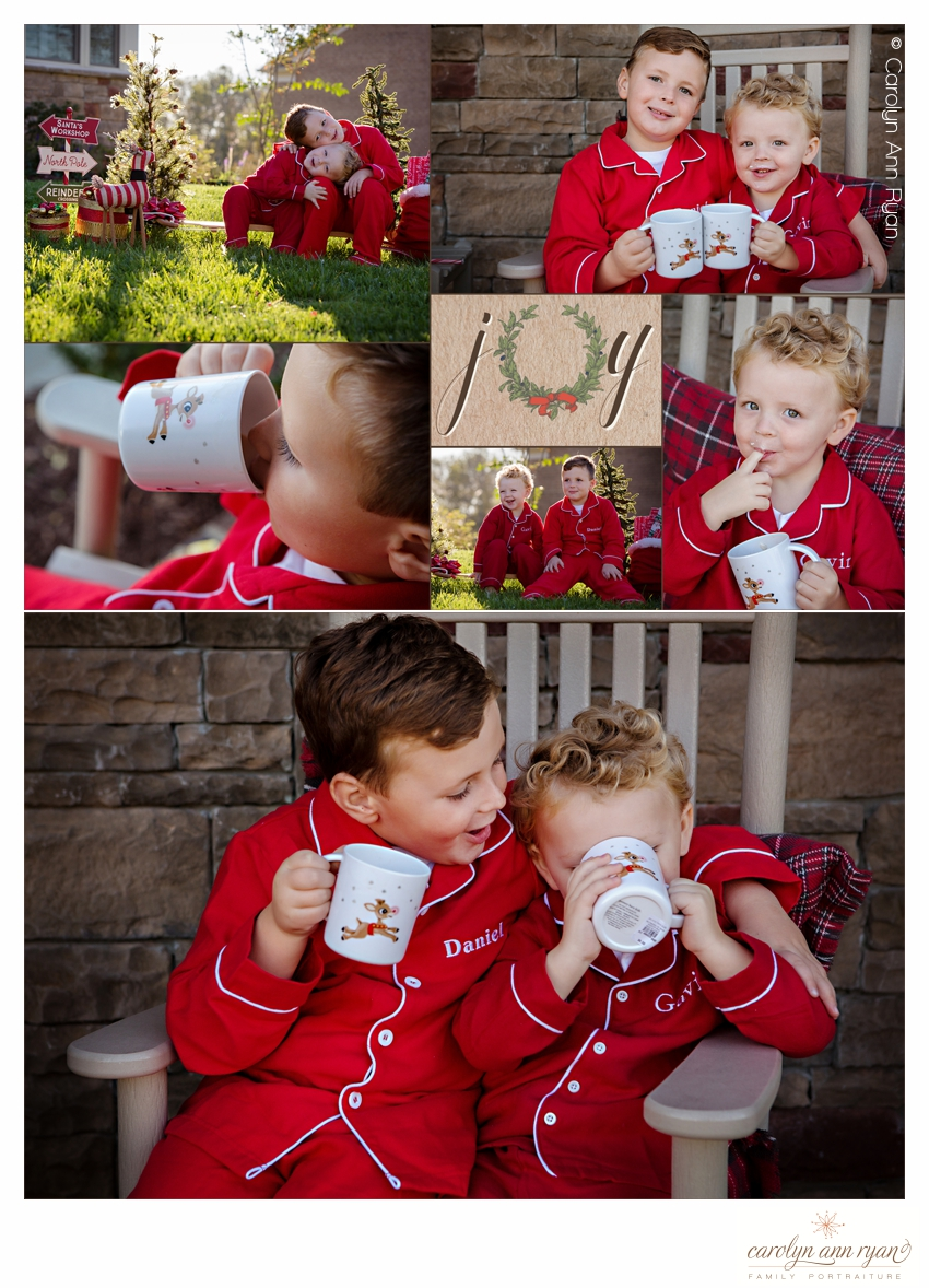 Most Adorable Christmas Pajama Portrait Session
