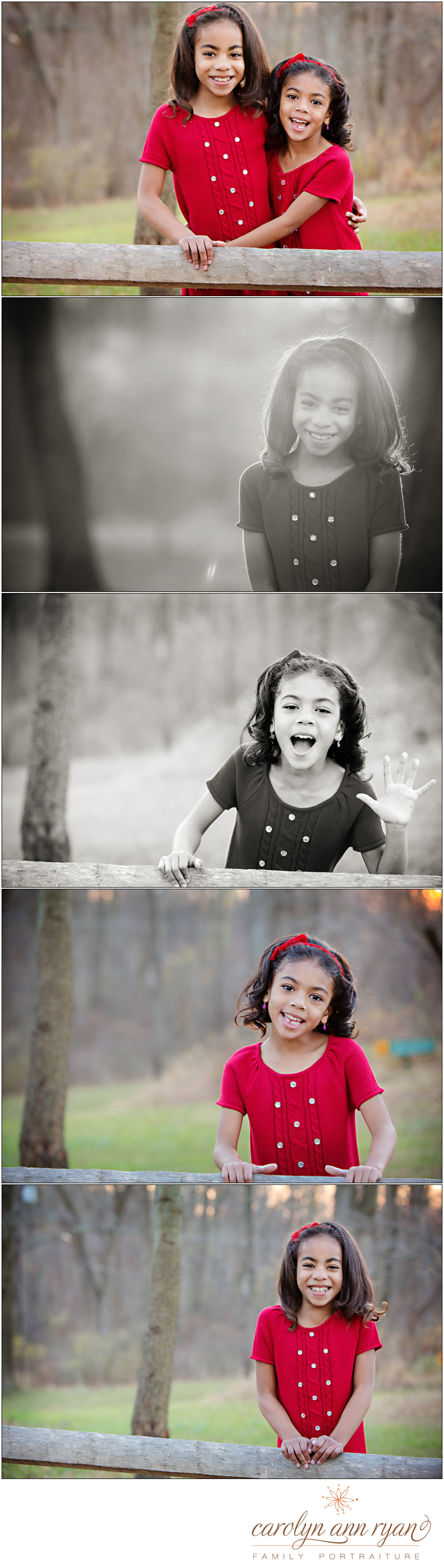 Dreamy North Carolina Childhood Photography Park Session by Carolyn Ann Ryan