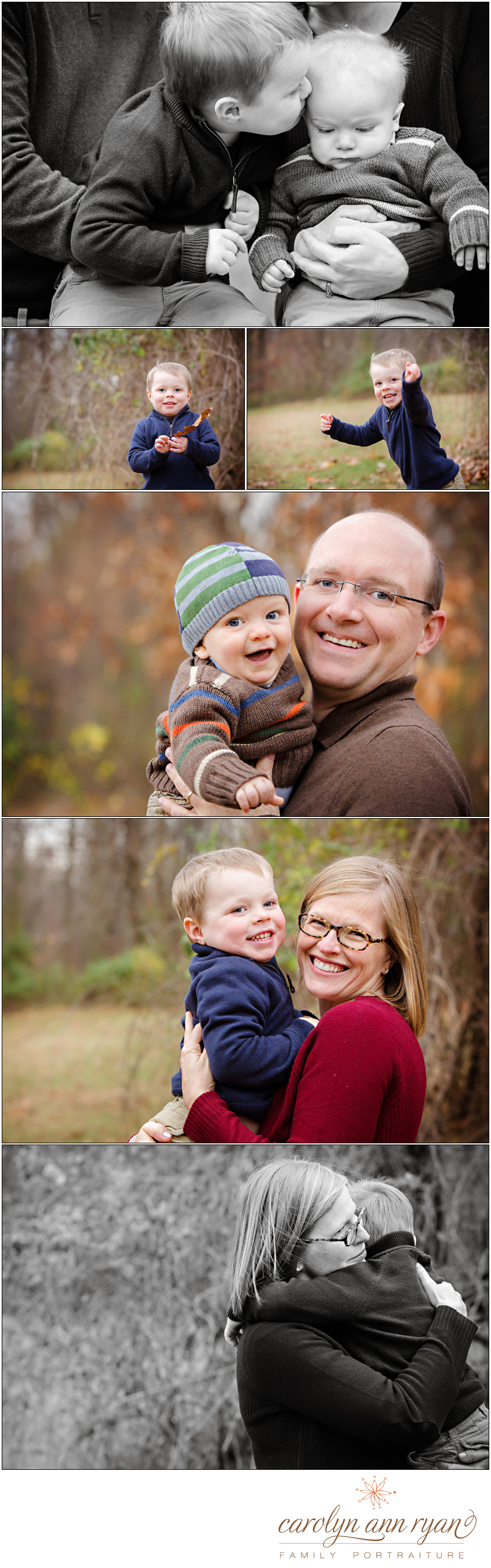 Union County North Carolina Family Photographer Carolyn Ann Ryan takes playful photos of children and parents