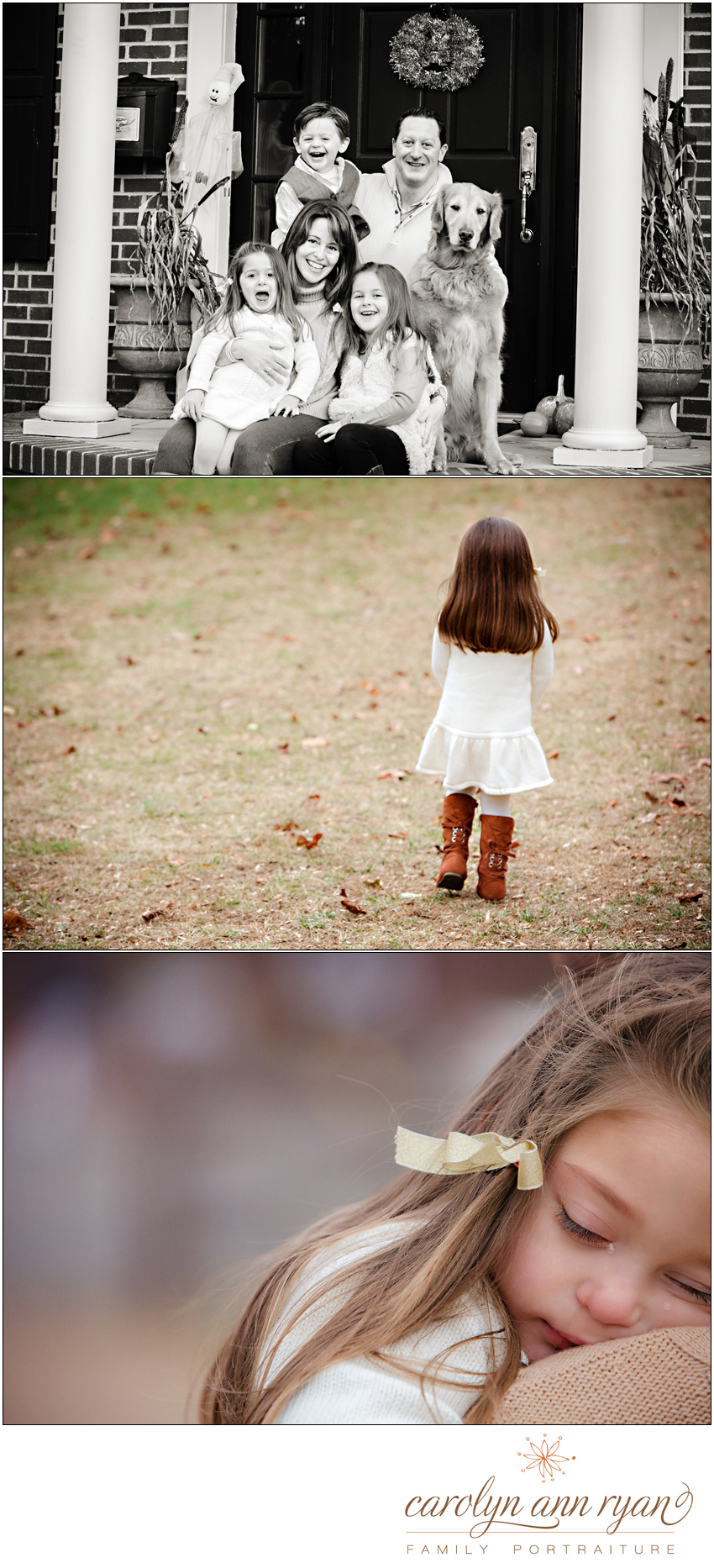 Carolyn Ann Ryan photographs Playful Charlotte, NC Family Portraits