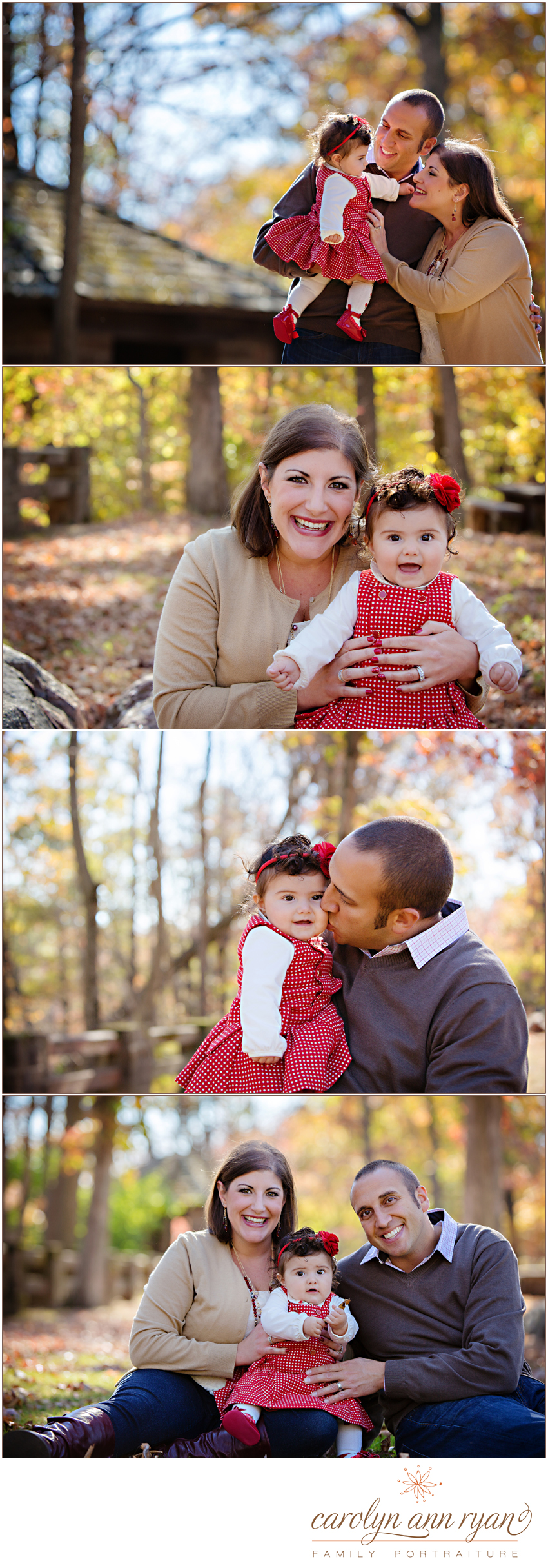 Charlotte, North Carolina Family and Child Photographer shares Fall family photographs