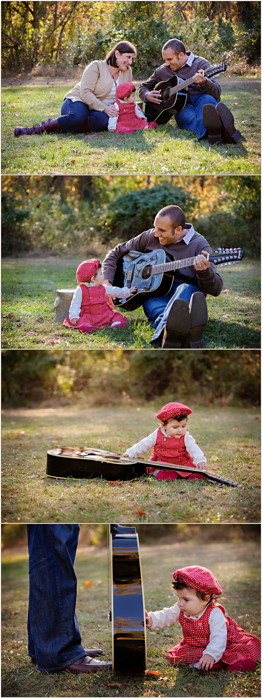 Charlotte NC Family Photographer Carolyn Ann Ryan shares family portraits